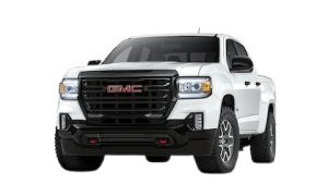 Front side view of 2021 GMC Canyon AT4