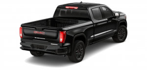 Rear side view of 2021 GMC Sierra 1500 Elevation